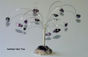 Amethyst Gem Tree