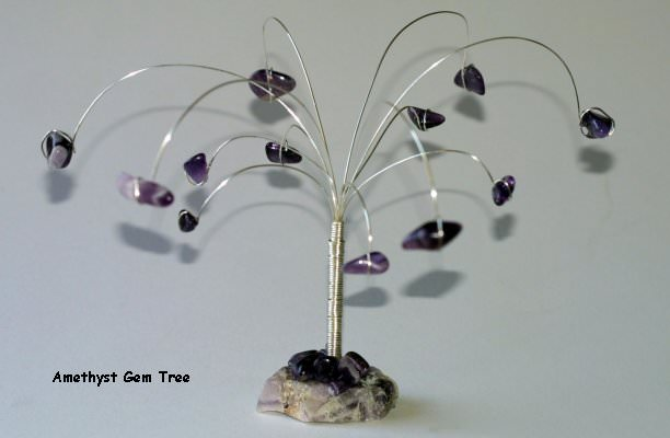 Amethyst Gem Stone Tree – First Attempt