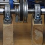 Bearing mounting blocks