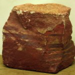 A block of Rough Zebra Stone